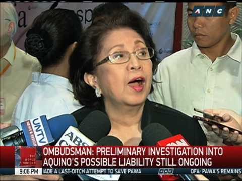 Ombudsman: Aquino may still be held liable for SAF 44's deaths