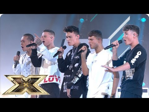 United Vibe sing Slow Hands | Live Shows Week 1 | The X Factor UK 2018