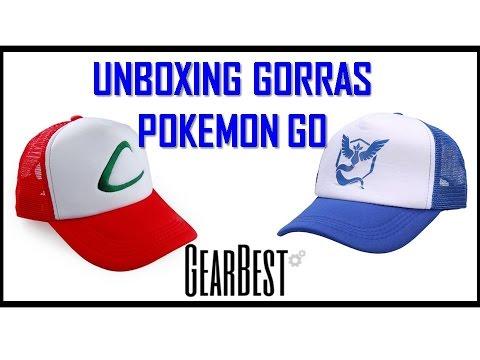 Unbox Compra online Bolivia Gorra Ash Ketchum y Equipo Sabiduria Pokemon Go  Gearbest global ee76918f781