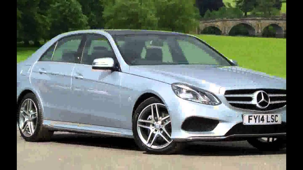 Mercedes benz e class saloon e300 bluetec hybrid amg line for Mercedes benz e300 hybrid