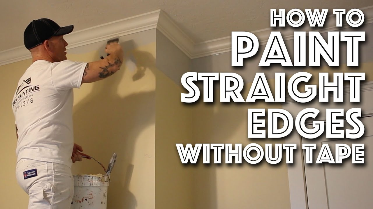How To Paint Edges Without Tape