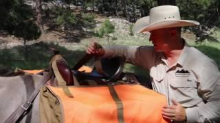 XL Hunting Pack Pannier - Riding Saddle Set Up - www.mountainridgegear.com