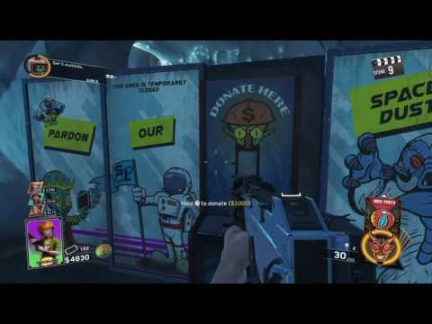 First time Playing COD Infinite Warfare Zombies In Spaceland!