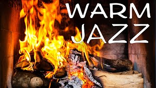 Relaxing Warm Jazz - Fireplace & Smooth Jazz  Musi