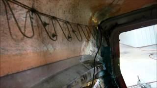 FIBERGLASS REPAIR FORD DUMP TRUCK HOOD