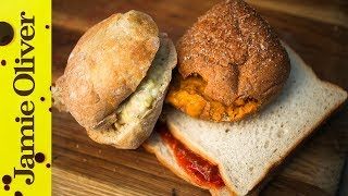 Gourmet Soup Sandwiches  | April Fool Aka The Food Busker