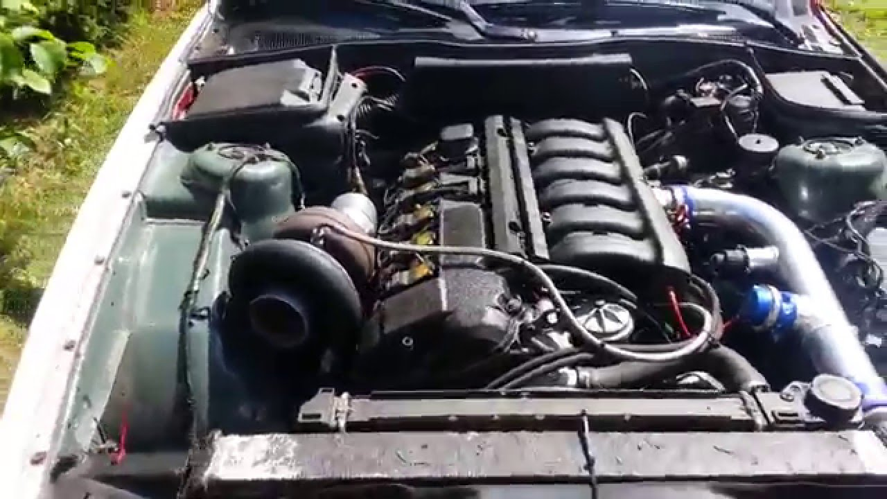 BMW E34 Triple turbo first startup rpm limit 3500rpm  YouTube