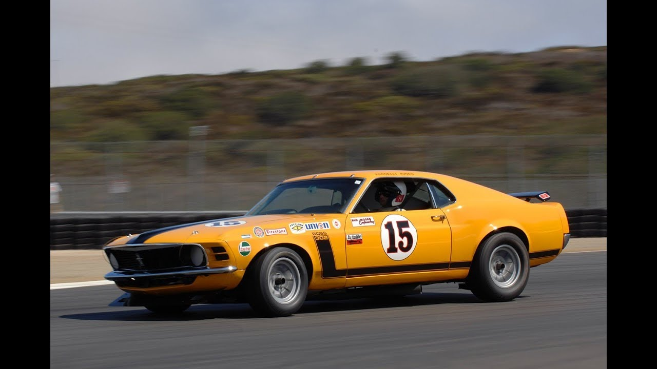 1970 bud moore boss 302 parnelli jones trans am mustang