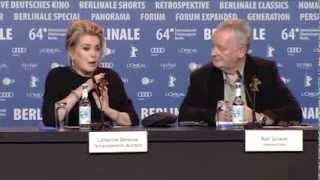 Dans la cour | Press Conference Highlights | Berlinale 2014