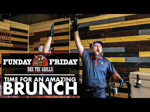 Funday Friday week 3 • Great Ideas for Brunch | REC TEC Grills