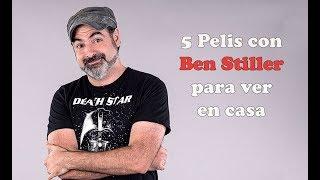 5 Películas con Ben Stiller para ver en casa