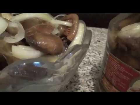 Соленые рыжики: процесс и результат (рецепт, пародия)