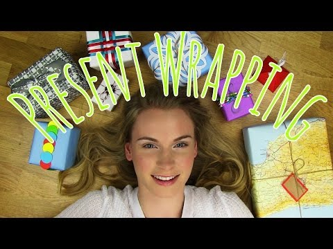 How to Wrap a Present! DIY 8 Creative Gift Wrapping Ideas