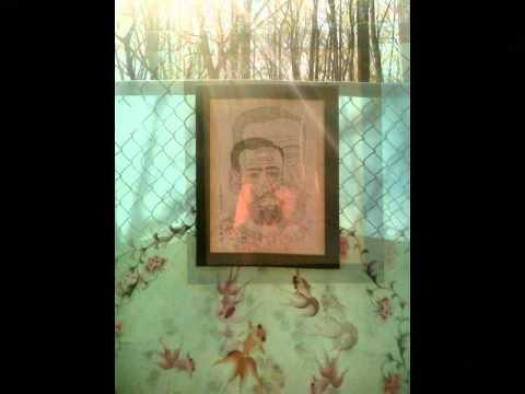 Emperor Meiji Portrait Installation