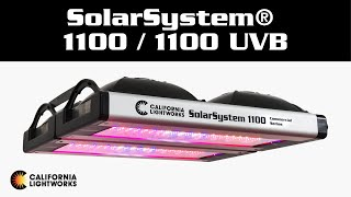 SolarSystem® 1100 / 1100 UVB - The Most Powerful Horticulture LED Grow Lights
