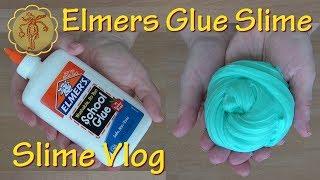 Slime-Vlog: Slime mit weißem Elṁers Glue