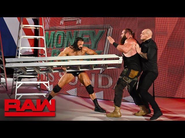 HINDI - Sami Zayn vs. Braun Strowman – Falls Count Anywhere Match: Raw, 13 May, 2019