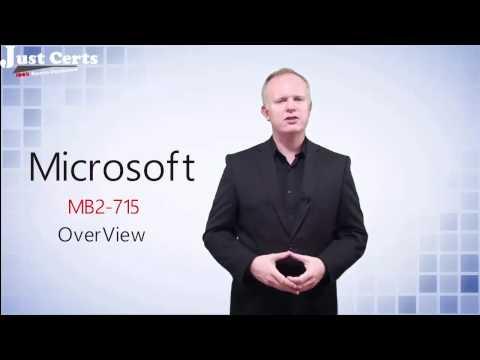 MB2-715 Exam Dumps | Microsoft Dynamics 365 customer MB2-715 Dumps Questions