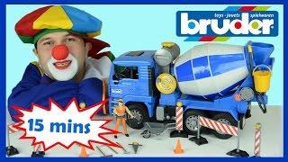 Construction Vehicles   Bulldozer for children   Excavator   Dump truck for kids   Video for Kids