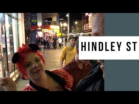 Adelaide's Hindley St. At 2:36am