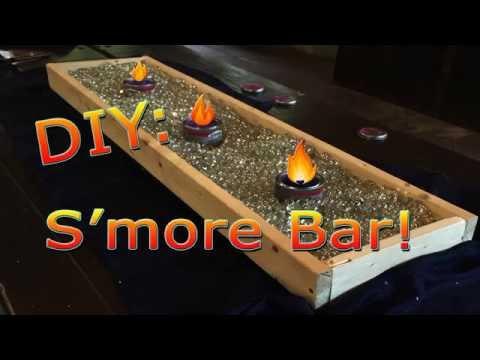 Diy Smores Bar Youtube