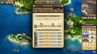 Port Royale 3: Pirates and Merchants Walkthrough Video #2