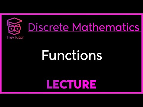 [Discrete Math 1] Functions