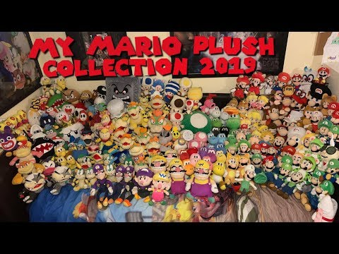 My Mario Plush Collection 2019!
