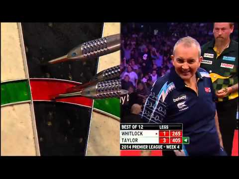 Phil Taylor vs Simon Whitlock - Premier League of Darts 2014 - Week 4