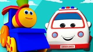 Bob, chuyến tàu | cuộc phiêu lưu vận chuyển cho trẻ em | trẻ em video và bài hát