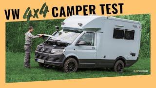 VW T6 4motion OffroadCamper – Test des Woelcke Autark Crosser compact
