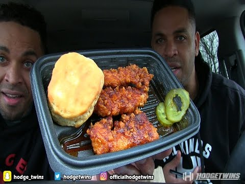 KFC® Nashville Hot Chicken Tenders Meal @Hodgetwins