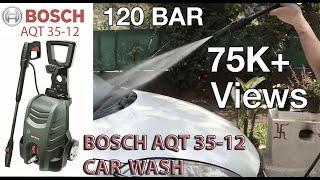 Bosch car washer AQT 35-12 | Car washing Tips, car  pressure washer, foam based car washing