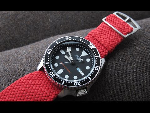 Customise Your Watch - Nato & Perlon Straps