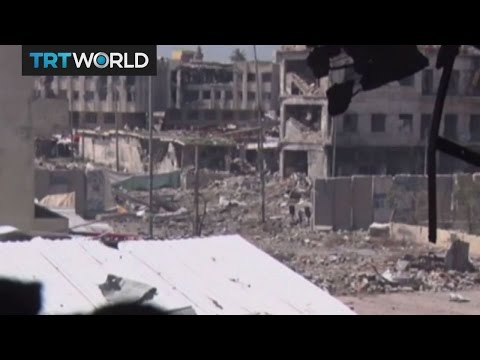 The Fight for Mosul: Coalition forces battle Daesh for west of city