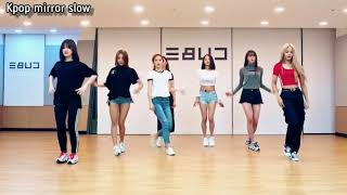 (mirrored & 50% slowed) Devil 'CLC' Dance Practice Choreography Video