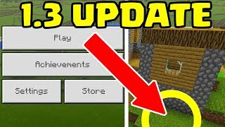 NEW Minecraft PE 1.3 Update will LOOK LIKE THIS