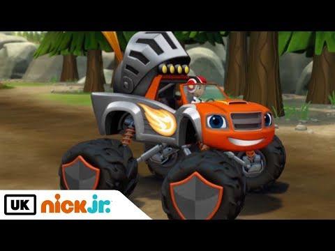Blaze and the Monster Machines | Knight Rider | Nick Jr. UK