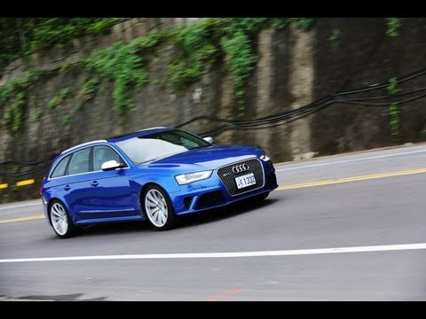 藍色閃電Audi RS4 Avant
