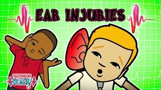 Science for kids - Ear Injuries | Body Parts | Experiments for kids | Operation Ouch