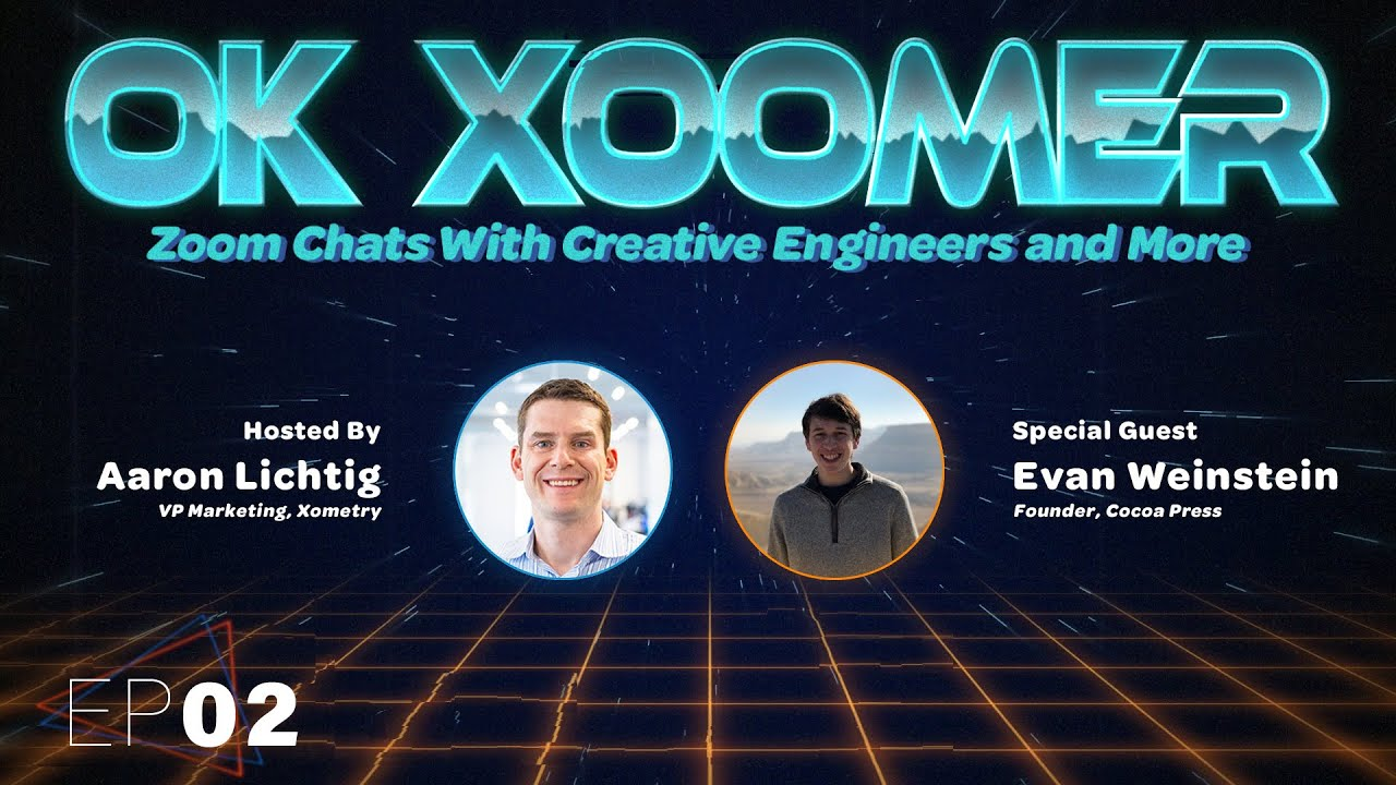 Ok Xoomer EP02 | Evan Weinstein | Shaping the Future of Chocolate With 3D Printing