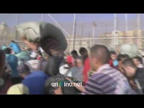 روبورتاج قناة ألمانية عن مآسي التهريب بين الناظور و مليلية Nador, Melilla, Ariffino.net