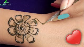 Easy and Fast Mehndi Design | Step by Step Mehndi Design For Beginners | Latest Mehndi