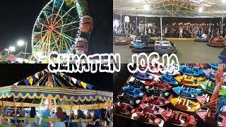 SERU ABIS!!! Wahana Permainan Dan Fasilitas Pasar Malam Sekaten Yogyakarta - Wisata Malam Jogja