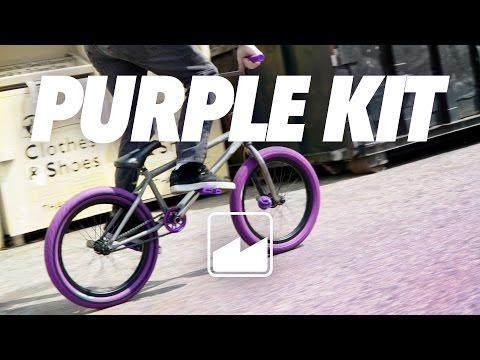 Merritt BMX :  The Power of Purple