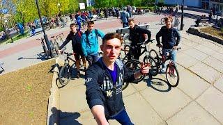 Велопробег в Мелитополе 2016