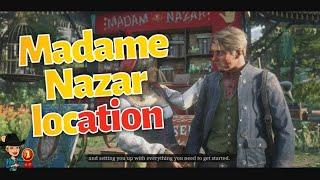 Red dead online Dove trovare Madame Nazar / Madame Nazar location