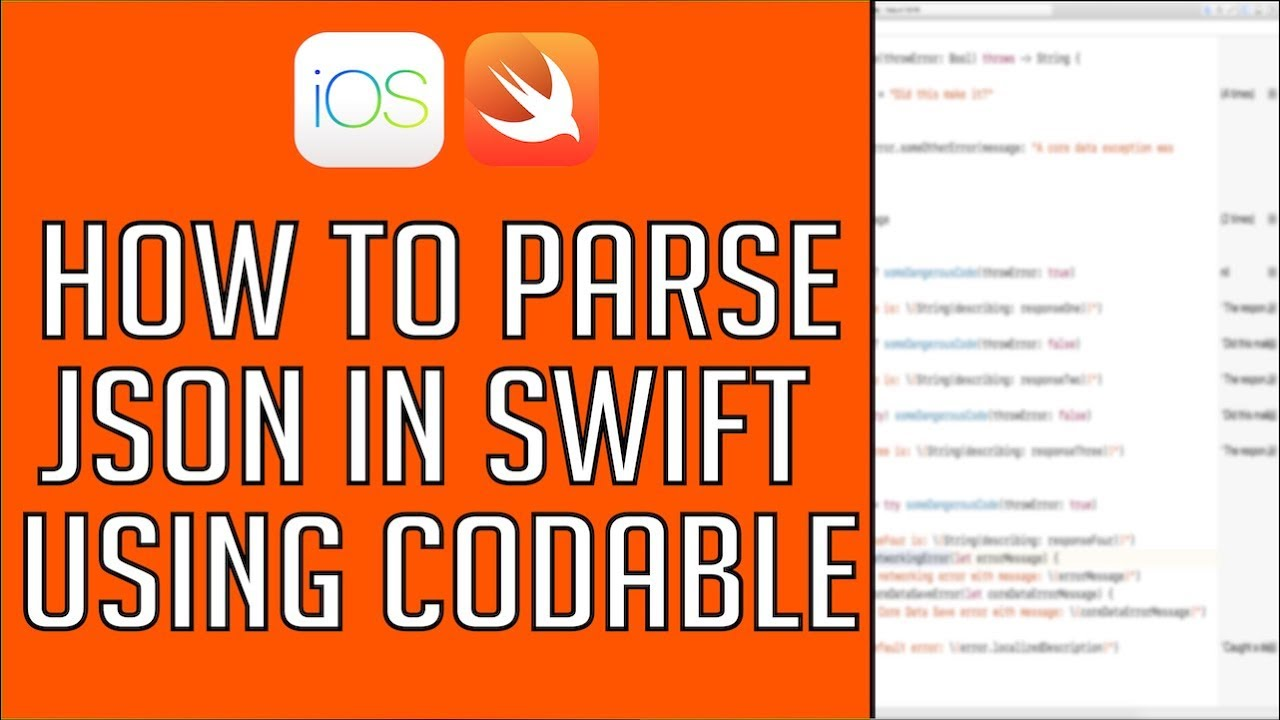 How To Parse JSON Using Codable