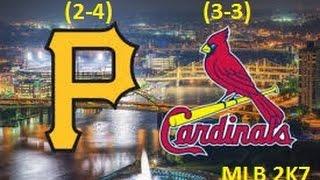 MLB 2K7 (XBOX 360): STL (Wells) vs. PIT (Snell)