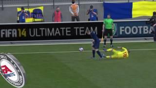 ROMANIA VS FRANCE | FIFA 14 GAMEPLAY